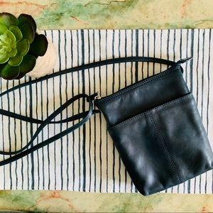 ili New York Soft leather crossbody Purse